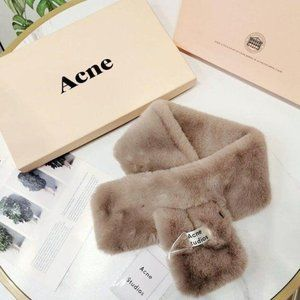 Acne studios Plush fashion scarf NWT Authentic